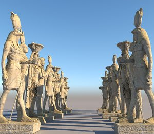 ancient giants monument pack 3D