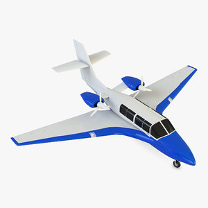 plane 103 3D model