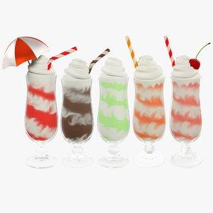 3D cocktails v2 model