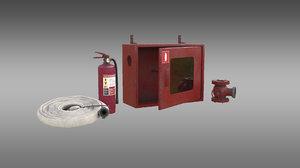 extinguishing media 3D model