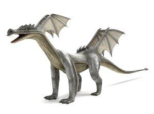 3D dragon blender v-multi