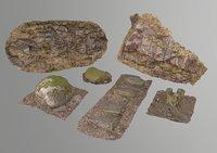 Forest model set