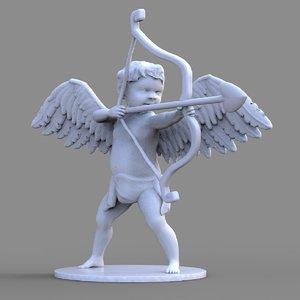 cupid sculpture model