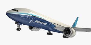 boeing 777-8 aircraft 3D model