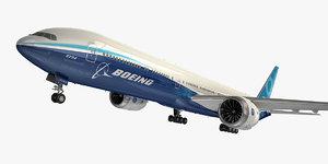 3D model boeing 777-9
