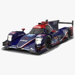 united autosports wec lmp2 3D model