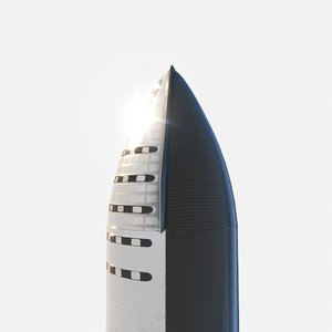 rocket mars pbr 3D model