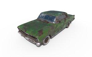 car abandoned 3D model
