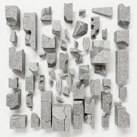 3D stone decor