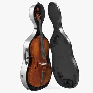 3D cello carbon fiber hard