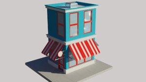 store cartoon 3D