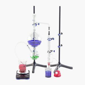 lab distillation equipment model