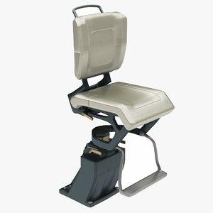 futuristic chair model