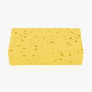 3D sponge pbr