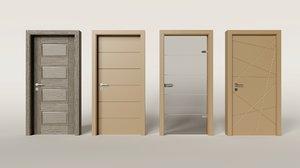 3D doors architecture model
