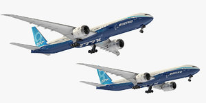 boeing 777x family aircrafts model