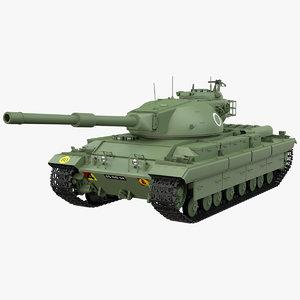 fv 214 conqueror 3D model