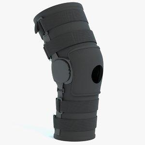 knee brace model
