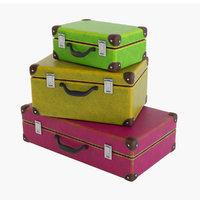 3D suitcase set