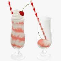 cocktails bar 3D model