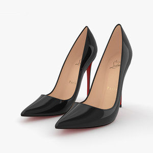 heels shoes 3D model