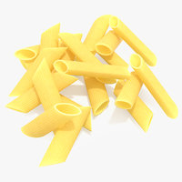 3D model penne pasta