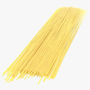 spaghetti pasta 3D