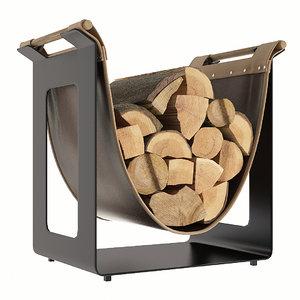 keddy firewood 3D model