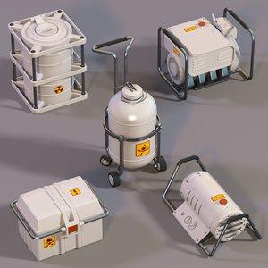 3D equipment laboratories model