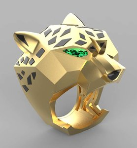 3D ring jewelry