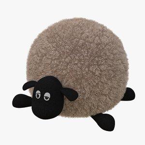 lamb toy 01 3D