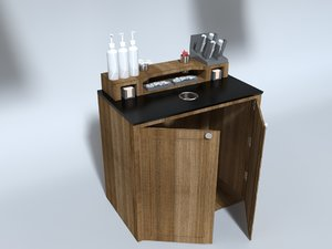 coffee condiment station model