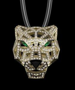 3D pendant jewelry necklaces