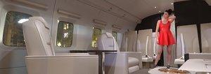 3D model helicopter interior mi