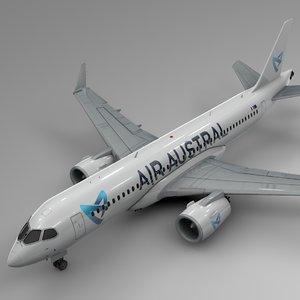 3D air austral airbus a220-300