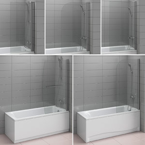 shutters baths ideal alterna 3D model