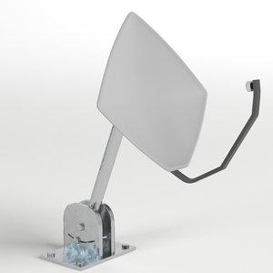 3D satellite dish 2 model