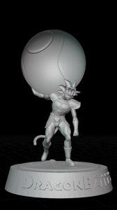 dragon ball bardock 3D