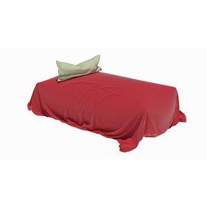 3D loose bed model