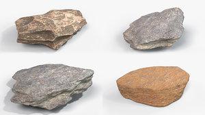 rock 001 - 8k 3D model