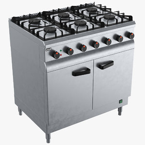 real oven 3D model