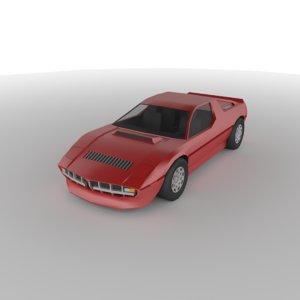 3D polycar n21 cars