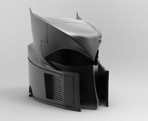 3D batman knightfall helmet print