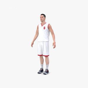 basketball player 3D
