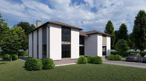 3D model home housing building