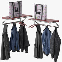 coat rack inno 3D