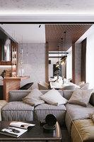 Modern Apartment Interior Scene and Corona Render 3D model