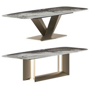 cattelan italia table 3D model