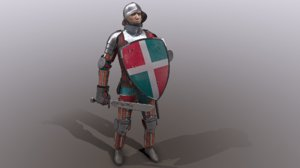 fantasy character medieval 3D