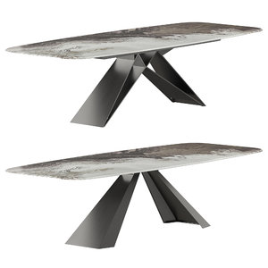 3D cattelan italia table